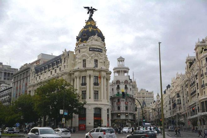 Edificio Metrópolis de Madrid.