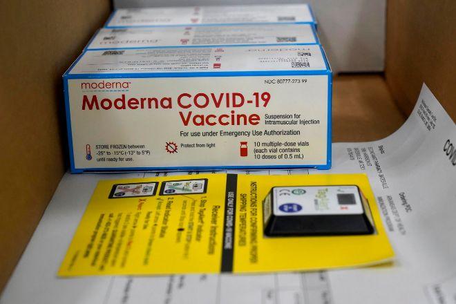 Vacunas de Modera preparadas para ser transportadas en barco el pasado 20 de diciembre en el centro de distribución McKesson en Olive Branch, Mississippi, Estados Unidos.