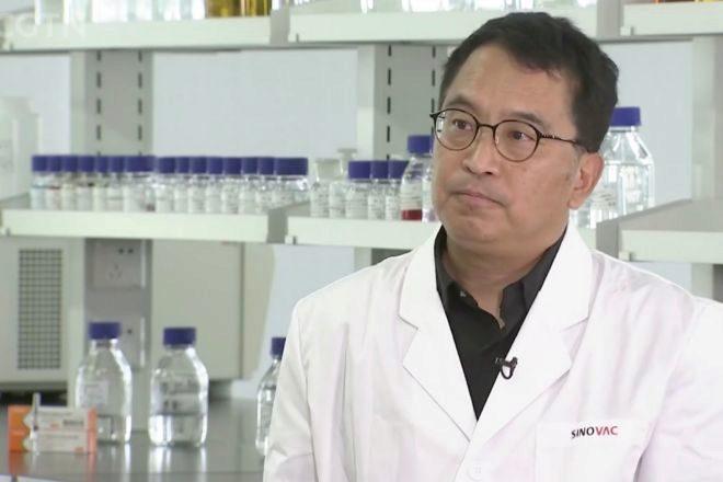 Yin Weidong, fundador, presidente y CEO de Sinovac.