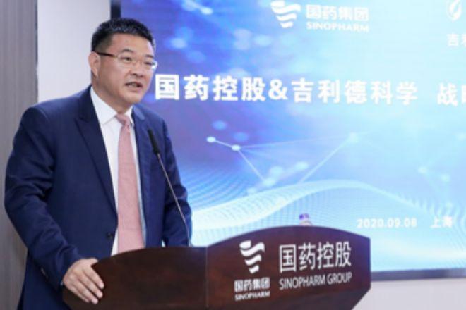 Yong Liu, CEO de Sinopharm.
