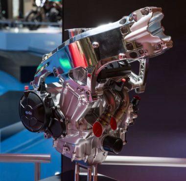 Así era el motor cuando era un concept...