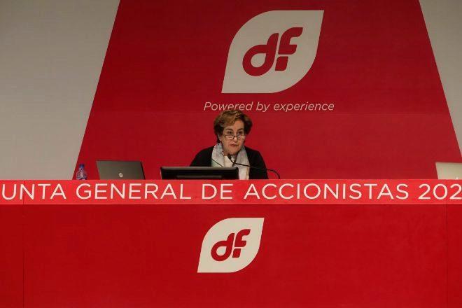 Rosa Aza, presidenta de Duro Felguera.