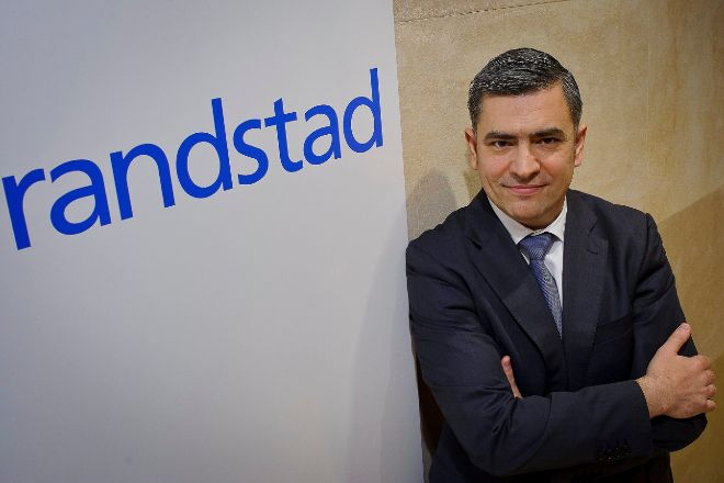 Rodrigo Martín fue nombrado presidente ejecutivo de Randstad España en enero de 2011: Foto: JMCadenas