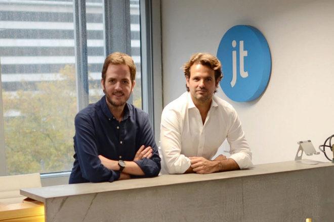 Felipe Navío (izquierda) y Juan Urdiales, cofundadores de Jobandtalent.