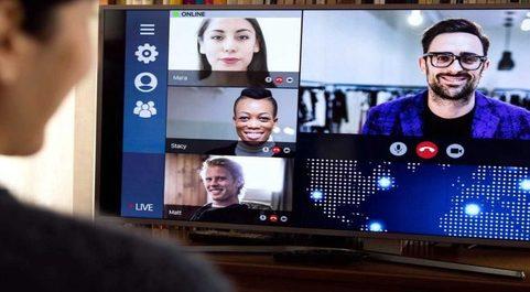 La aplicación de videollamadas Zoom fue uno de los grandes...