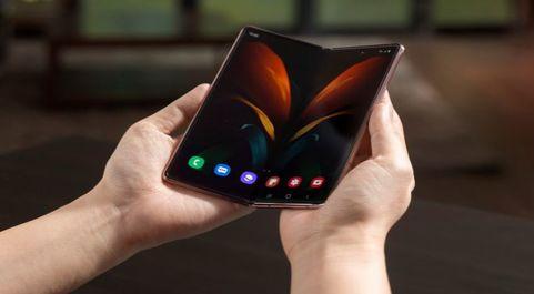 El móvil de Samsung Galaxy Z Fold 2.