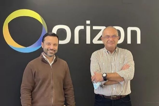 Àngel Pineda, CEO de Orizon, y José Manuel Desco, director general.