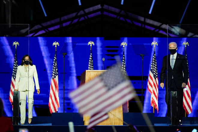 <strong>El tándem.</strong> Joe Biden (Pensilvania, 1942) asume el puesto como el presidente más veterano y con amplia experiencia en la Casa Blanca. Tendrá a su lado a Kamala Harris (California, 1964), primera mujer vicepresidenta, hija de india y afroamericano.