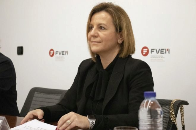 Tamara Yagüe, presidenta de la Federación Vizcaína de Empresas del Metal (FVEM).