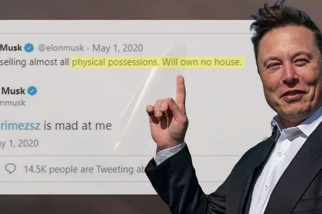 """Elon Musk cumple su promesa y acelera la venta de sus """"bienes terrenales"""""""