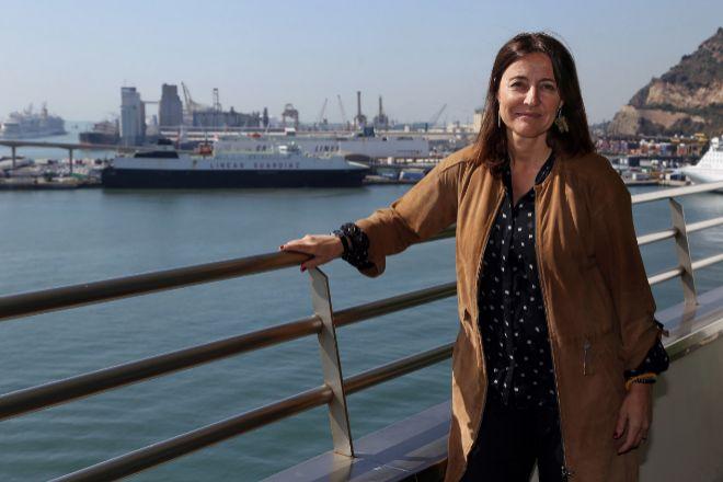 La presidenta del Port de Barcelona, Mercè Conesa, que asumió el cargo en 2018 en sustitución de Sixte Cambra.
