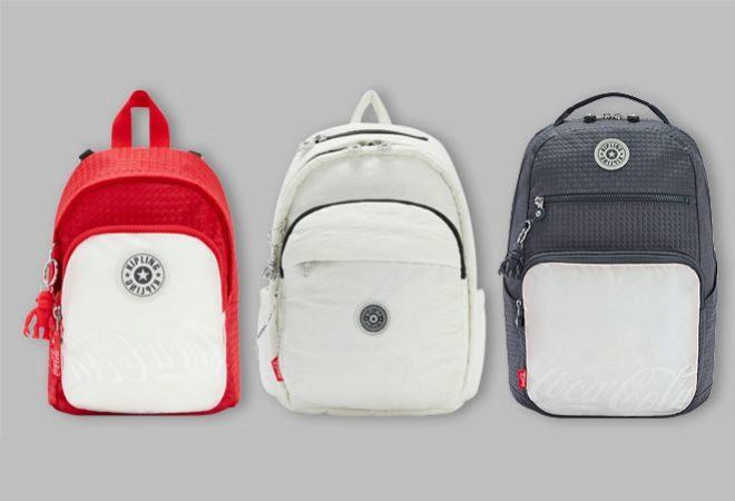 De izquierda a derecha, mochila Delia Compact (119 euros); mochila Delia White Bone (139 euros) y mochila Troy  Grey Slate (159 euros).