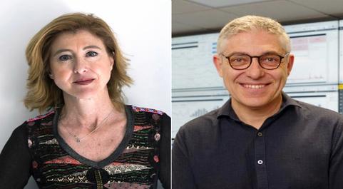 Los CEO de Red Points y Smart Protection, Laura Urquizu y Javier...