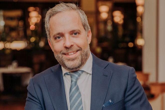 El consejero delegado de Visalia, Pablo Abejas