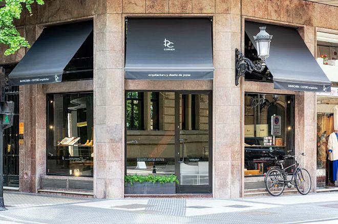 Fachada de BC Corner, su tienda en San Sebastián.