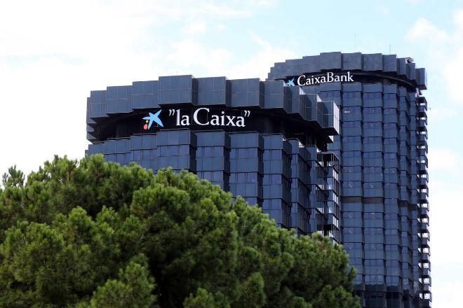 Sede operativa de CaixaBank.