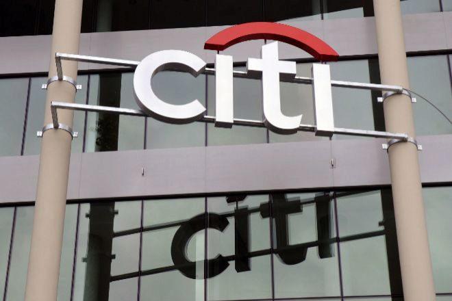 Logo de Citigroup.