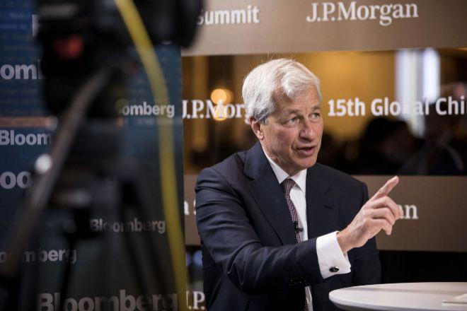 Jamie Dimon, presidente y consejero delegado de JP Morgan.
