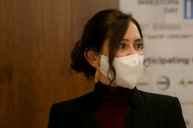 La presidenta de la Comunidad de Madrid, Isabel Díaz lt;HIT gt;Ayuso lt;/HIT gt;.