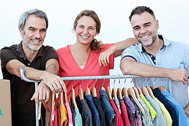 Daniel Bezares, Lourdes Ferrer y Luis Ongil, fundadores de Percentil.