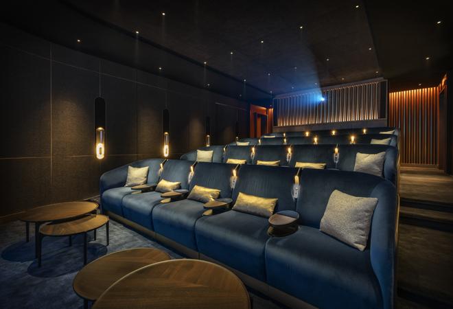La sala de cine es uno de los nuevos espacios creados en La Mamounia.