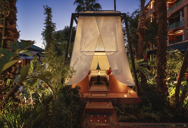 Tiendas para sentirse como acampado en el desierto.