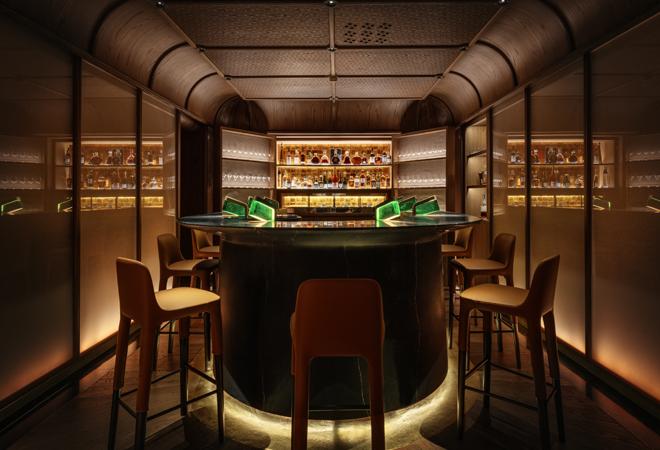 El transformado bar Churchill, más íntimo, con capacidad para seis personas máximo.