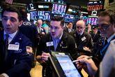 Traders en la Bolsa de Nueva York.