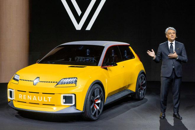 """Luca de Meo: """"Renault necesita apoyo del Gobierno y flexibilidad para invertir en España"""""""
