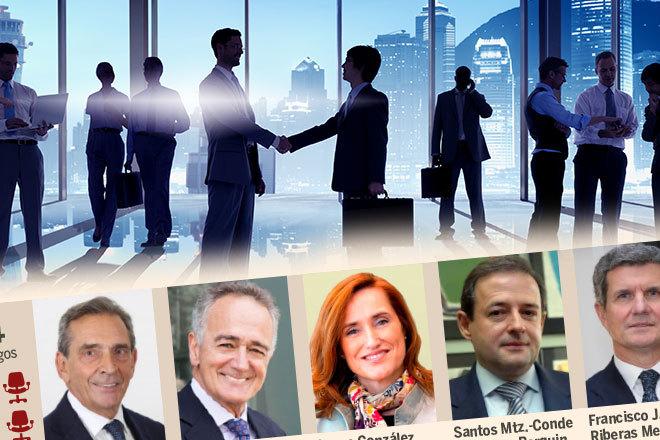 Echenique, Pradera, Riberas y otros consejeros multipresenciales de la Bolsa española