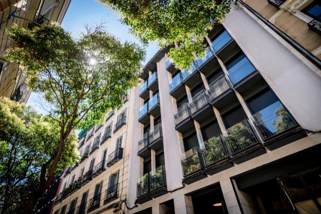 Edificio de apartamentos en Malasaña gestionado por Sonder.