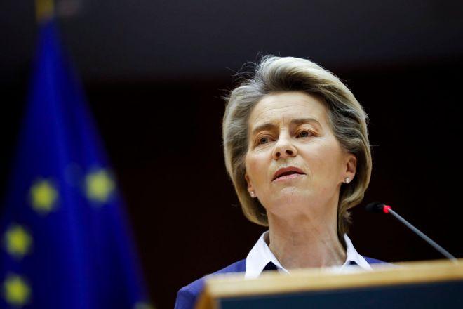 """Von der Leyen da la bienvenida a Biden: """"Europa está preparada para un nuevo comienzo con EEUU"""""""