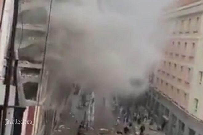 Fuerte explosión en Puerta de Toledo