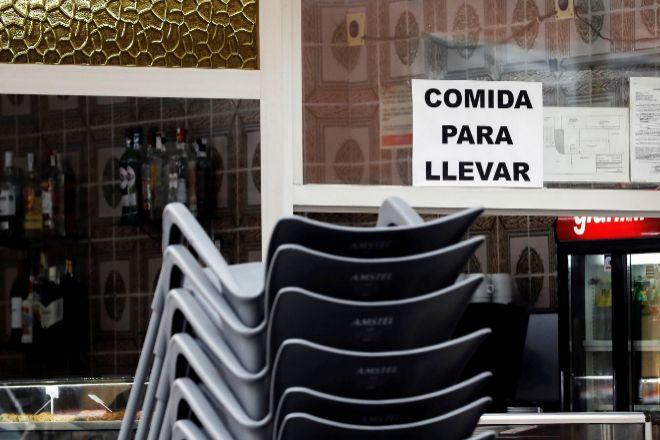 La hostelería valenciana tendrá que cerrar.