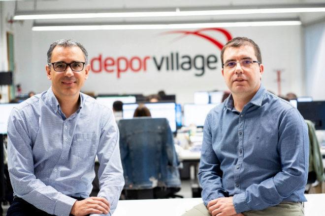 Xavier Pladellorens y Ángel Corcuera, fundadores de Deporvillage.