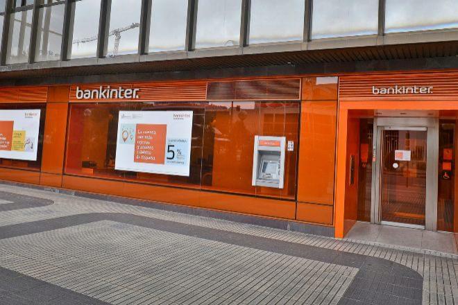 Oficina de Bankinter en Madrid.