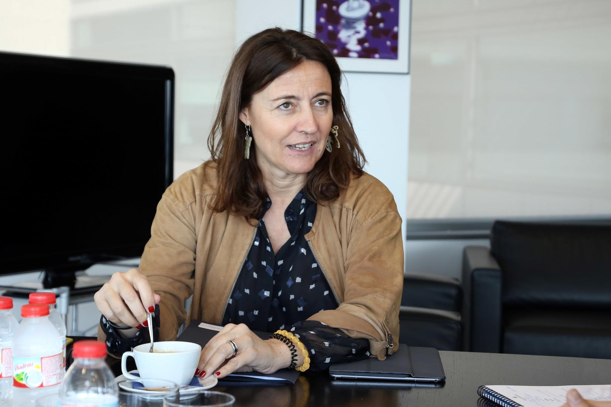 La presidenta de la Autoridad Portuaria de Barcelona ydel consejo nacional del PDeCAT, Mercè Conesa, en una imagen de archivo.