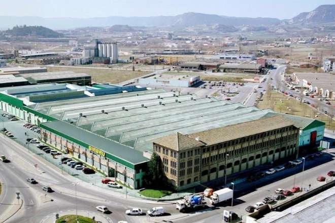 Planta de producción de Girbau en Vic.