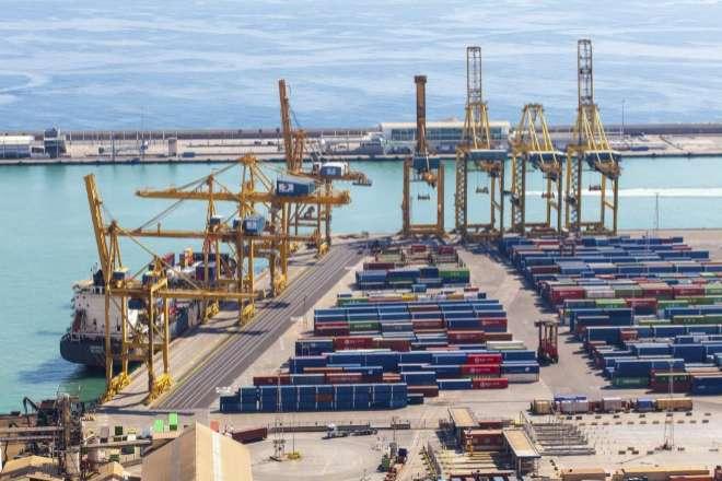 El Puerto de Barcelona es el motor de las exportaciones catalanas.