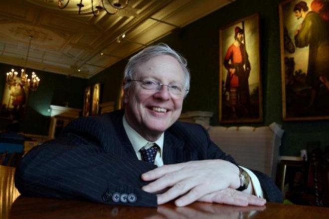 Jonathan Ruffer, coleccionista de arte español, maneja una gestora con 25.000 millones de euros en activos.