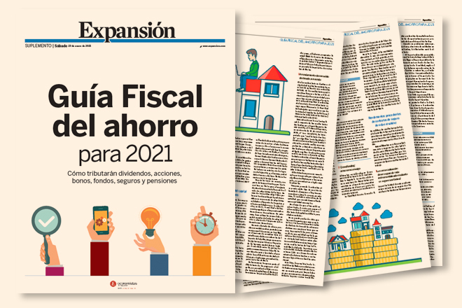 Mañana sábado, gratis con Expansión, Guía Fiscal del Ahorro 2021