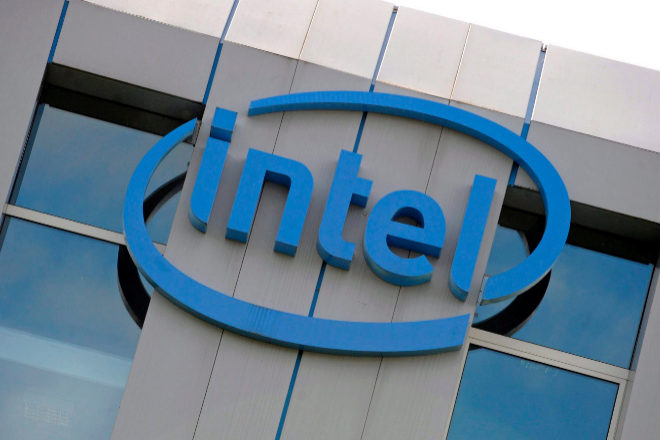 Logotipo de Intel.