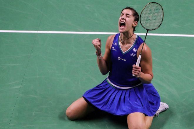 Carolina Marín conquista su segundo título en Tailandia