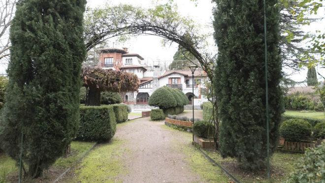 Jardín italiano.