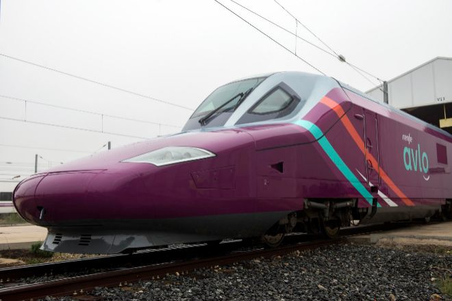 Avlo es el tren de bajo coste de Renfe.