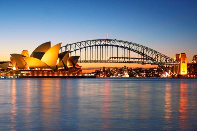 Vista de Sidney (Australia).