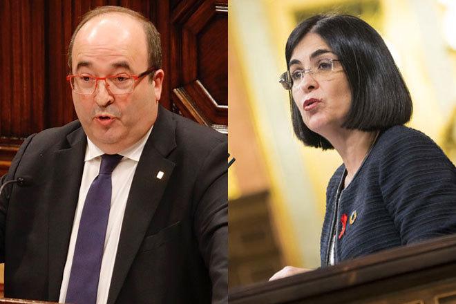 Darias releva a Illa en Sanidad e Iceta será ministro de Política Territorial