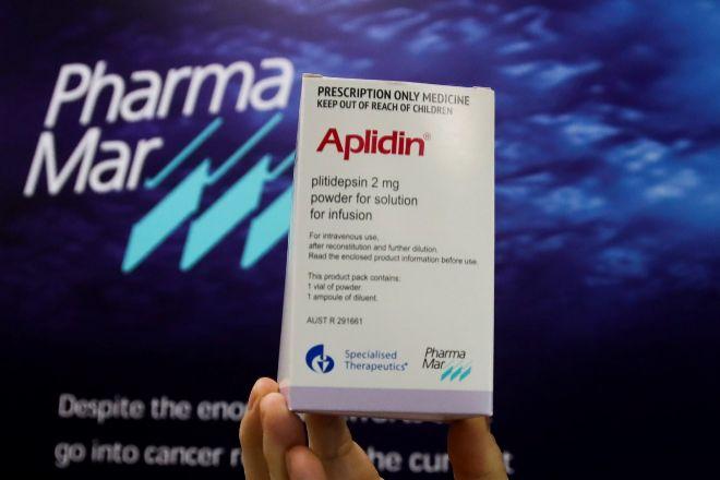 Aplidin es el compuesto del laboratorio PharmaMar que ha dado resultados positivos en la búsqueda de medicamentos para tratar el Covid-19.