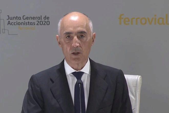 El presidente de lt;HIT gt;Ferrovial lt;/HIT gt;, Rafael del Pino.