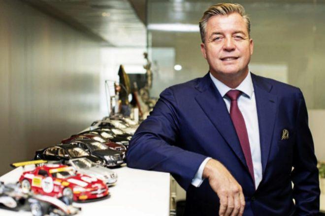 Roland Schell, presidente del consejo de administración de Mercedes-Benz España.